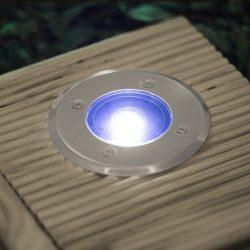 GARDEN LED-es süllyeszthető, lépésálló szolár lámpa 11440