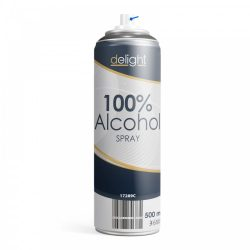 Delight 100% Alkohol spray - 500 ml 17289C