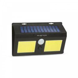 Mozgásérzékelős szolár reflektor - fali - COB LED (55287)