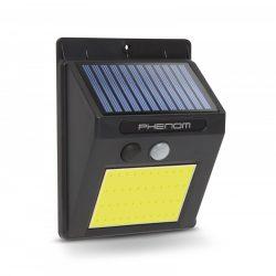 Mozgásérzékelős szolár reflektor - fali - COB LED (55288B)