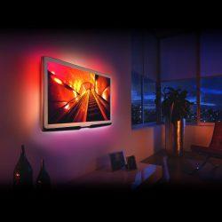 """TV háttérvilágítás 40 - 60"""" képátmérőjű Tv-khez, monitorokhoz"""