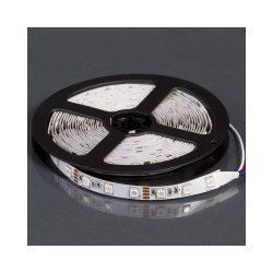 LED szalag beltéri 12V/14,4W/5050/60/IP20 RGB színváltós