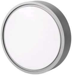 Avide (Merkur-C) Cseppálló Mennyezeti Lámpa Kerek IP54 12W NW 4000K Szürke ABHL54-RG-12W-NW