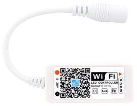 LED Szalag 12V 100W RGB+W Mini WIFI-s Vezérlő