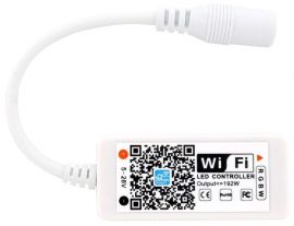 LED Szalag 12V 192W RGB+W Mini WIFI-s Vezérlő