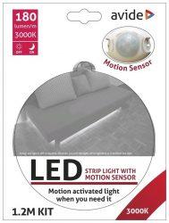 LED Szalag Mozgásérzékelős Szenzorral 3W 3000K Single