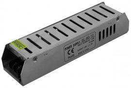 LED Szalag 12V 60W IP20 Slim Tápegység
