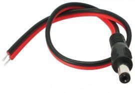 LED Szalag 12V DC Csatlakozós Kábel-Apa