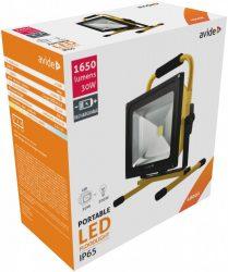 Avide LED Reflektor Akkumulátoros 30W NW 4000K