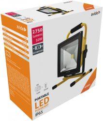 Avide LED Reflektor Akkumulátoros 50W NW 4000K