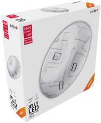 Avide LED Mennyezeti Lámpa Jelly (Medúza) 18W 330*100mm NW 4000K ACLO33NW-18W-ME
