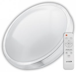 Avide LED Mennyezeti Lámpa Pandora-CCT (ALU) 80W távirányítóval (AVIDE ACLOCCT-80W-R-ALU)