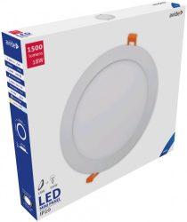 Avide LED Beépíthető Kerek Mennyezeti Lámpa ALU 18W CW 6400K