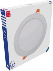 Avide LED Beépíthető Kerek Mennyezeti Lámpa ALU 24W CW 6400K