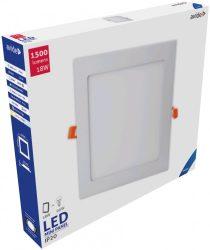 Avide LED Beépíthető Négyzetes Mennyezeti Lámpa ALU 18W CW 6400K