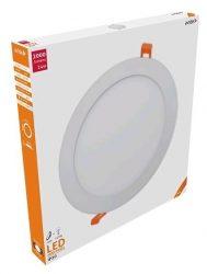 Avide LED panel Beépíthető Kerek Mennyezeti Lámpa ALU 24W NW 4000K ACRPNW-R-24W-ALU