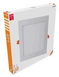 Avide LED Beépíthető Négyzetes Mennyezeti Lámpa ALU 24W NW 4000K