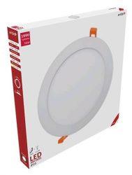 Avide LED panel Beépíthető Kerek Mennyezeti Lámpa ALU 24W WW 3000K ACRPWW-R-24W-ALU