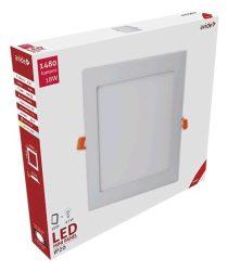 Avide LED Beépíthető Négyzetes Mennyezeti Lámpa ALU 18W WW 3000K