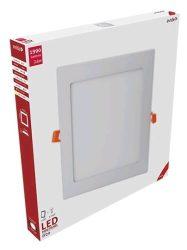 Avide LED Beépíthető Négyzetes Mennyezeti Lámpa ALU 24W WW 3000K