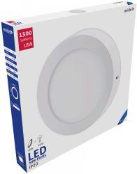 Avide LED Falra Szerelhető Kerek Mennyezeti Lámpa ALU 18W CW 6400K