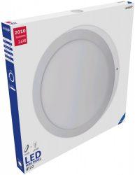 Avide LED Falra Szerelhető Kerek Mennyezeti Lámpa ALU 24W CW 6400K
