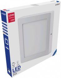 Avide LED Falra Szerelhető Négyzetes Mennyezeti Lámpa ALU 18W CW 6400K