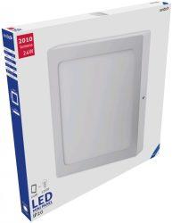 Avide LED Falra Szerelhető Négyzetes Mennyezeti Lámpa ALU 24W CW 6400K