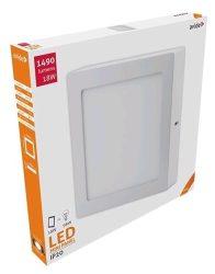 Avide LED Falra Szerelhető Négyzetes Mennyezeti Lámpa ALU 18W NW 4000K ACSMNW-S-18W-ALU