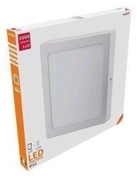 Avide LED Falra Szerelhető Négyzetes Mennyezeti Lámpa ALU 24W NW 4000K ACSMNW-S-24W-ALU