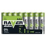 RAVER Alkáli Elem LR03 (AAA) 8DB/BLISZTER (B79118)