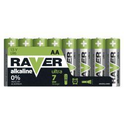 RAVER Alkáli elem AA 8db/csomag (B79218)