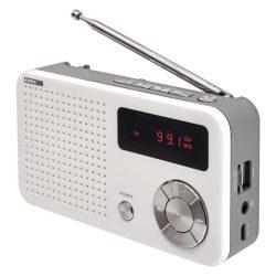 EMOS akkumulátoros MP3-as, USB-s rádió (E0086)