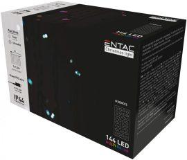 Entac Karácsonyi Függöny IP44 144 LED RGB 8x8 Funkció 1x1.5m IR távirányítóval (ECCL-144-RGBIR)