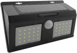 Entac Napelemes SZOLÁR KÜLTÉRI REFLEKTOR mozgásérzékelős Műanyag Lámpa 4W SMD (ESL-4W-SMD-PL)