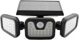 Entac Napelemes REFLEKTOR Műanyag Fali lámpa 15W SMD 3 fej mozgásérzékelővel (ESL3H-SMD)