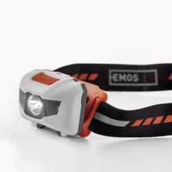 EMOS ELEMES FEJLÁMPA 1 fehér + 2 piros LED (P3521)
