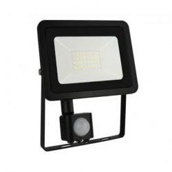 2 SMD 230V 30W IP44 NW FEKETE MOZGÁSÉRZÉKELŐS LED REFLEKTOR (SLI029039NW_CZUJNIK)