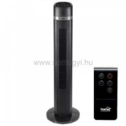 Oszlopventilátor, fekete, 100 cm, 45 W (TWFR 100)