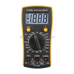 SMA Digitális multiméter VC 830L