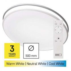 EMOS LED mennyezeti lámpa 36W 140-2880lm dimm. állítható színhőmérséklet (ZM5166)