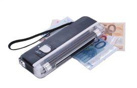 UV lámpa, pénzvizsgáló elemes
